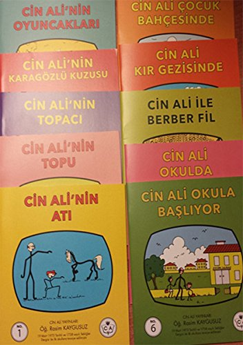 Cin Ali Serisi (10 Kitap) Pdf İndir